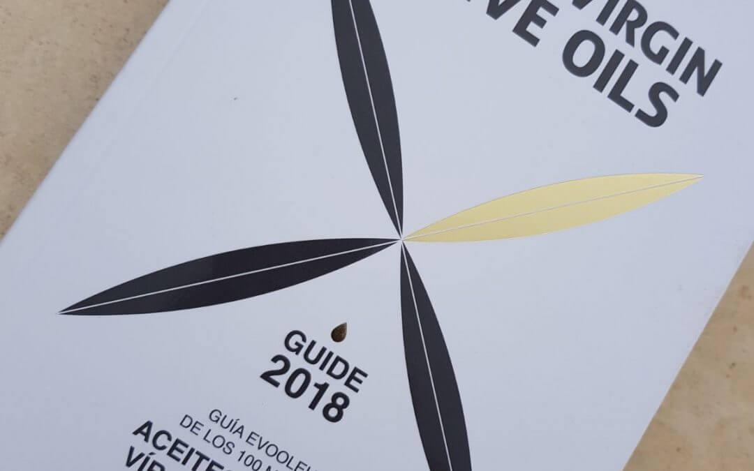 Knolive Epicure en la Guía Evooleum de los 100 mejores aceites de Oliva Vírgenes Extra del mundo