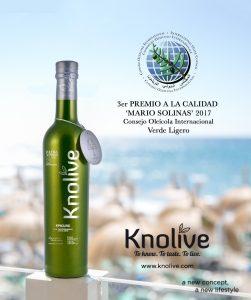 Mejor aceite de oliva del mundo. Best olive oil in the world. Premio Mario Solinas. Mario Solinas Awards.