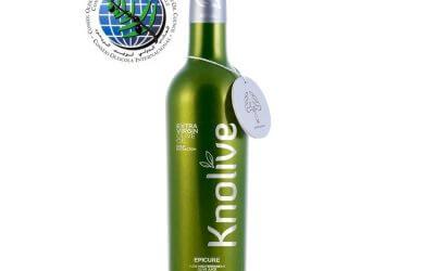Knolive Epicure finalista en el premio MARIO SOLINAS otorgado por el Consejo Oleícola Internacional.