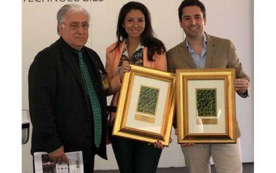 Los hermanos Yévenes García reciben, en la Feria de Montoro, dos Medallas de Oro obtenidas en el prestigioso concurso Monocultivar (Italia)